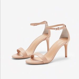 Express nude stiletto heels